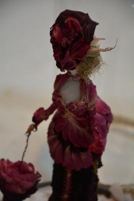 Roses Petals Doll