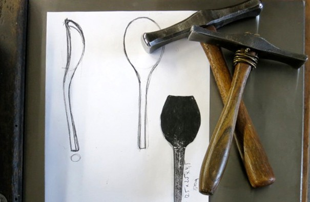 Forging a Silver Spoon with Barbara Amstutz