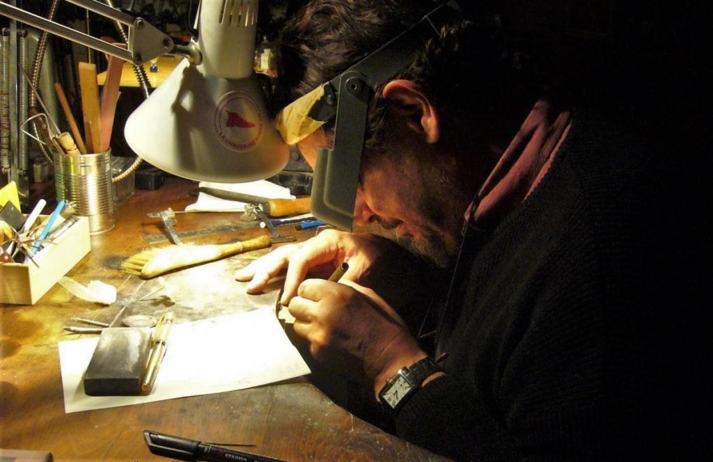 Initiation aux techniques de la bijouterie avec Nadja Lokschin