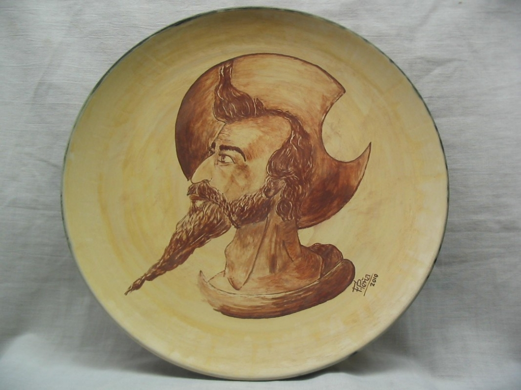 Felipe Peña Sáez, ceramist since 19 year. Spain