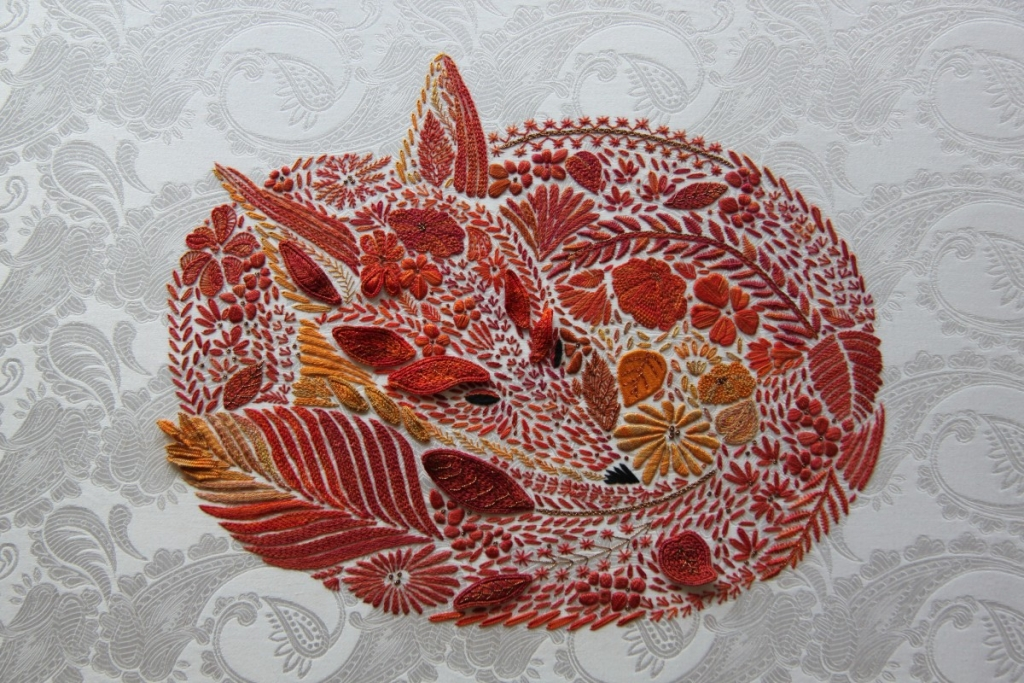 Jessica Grimm, hand-embroideress craftsman since 2009. Germany