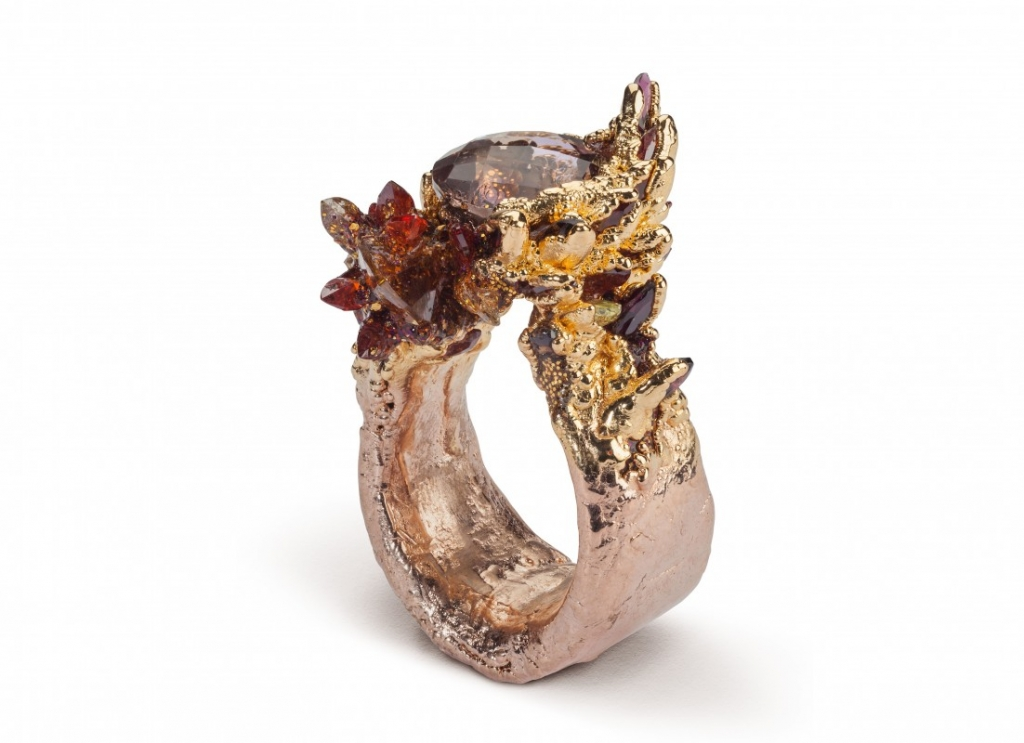 Maud Traon, jeweller since 2010. United Kingdom