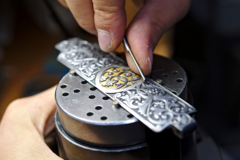 Hand-engraving courses with Alain Lovenberg