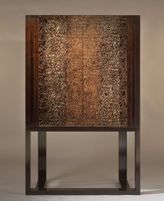 african blackwood and urushi cabinet - Sergej Kirilov