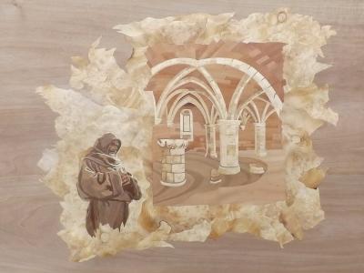 Parchment - Marquetry Design - Dušan Rakić