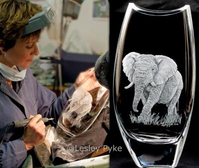 1elephant engrave1 edited 3 - Lesley Pyke