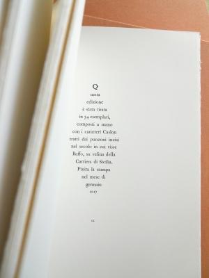 Tallone editore book colophon