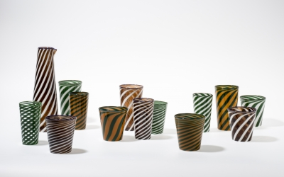 Laurence brabant et Alain Villechange glassware