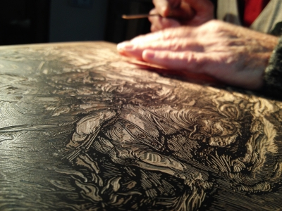 Tipografia Grifani Donati woodengraving