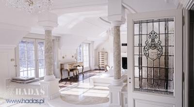bathroom stained glass - HADAS Pracownia Witrazy