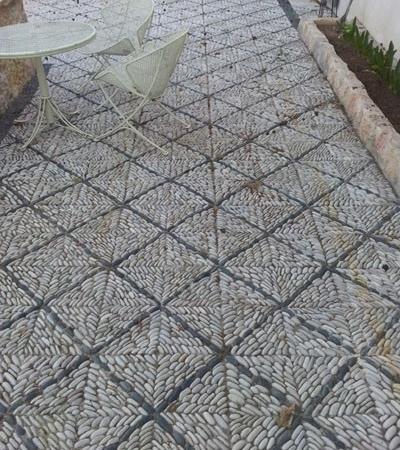Mosaique de Galets