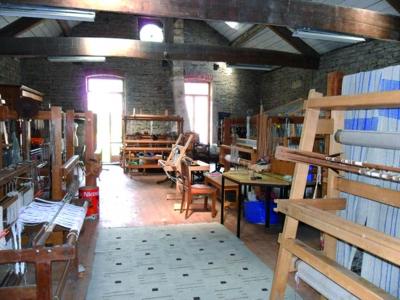 Centre atelier textile