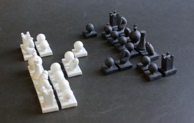 Shiny white fights black - Atelier Esprit Créateur - Bas van Zuijlen