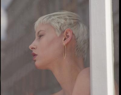 M gloss earring lanzette