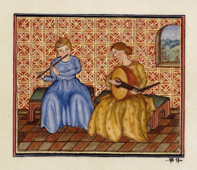 Annie Bouyer - Musique au salon