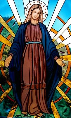 Alessia nocca vetrata artistica religiosa