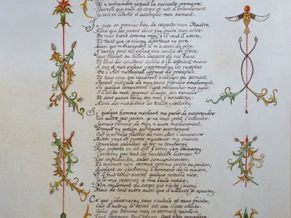 Solange Palacios Dupont - 1 413 serment d hippocrate