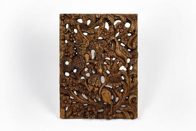 The dragon dog and stork wood carving by anastasya martynova 1200