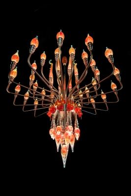 Lustre flamboyant - Verre l'Essentiel - Gwendoline BONNET