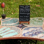 Table mosaique - Magali Magère