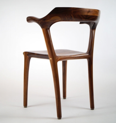 Diningroom chair ms20 walnut 1 - Morten Stenbaek