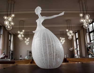 Jane-Sylvie Van den Bosch - glass dancer - 50cm