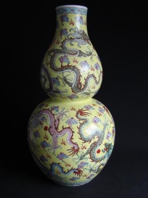 Porcelaine chinoise après restauration © I. Pirotte