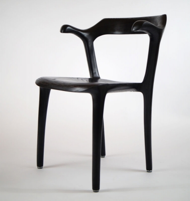Diningroom chair ms20 black 4 - Morten Stenbaek