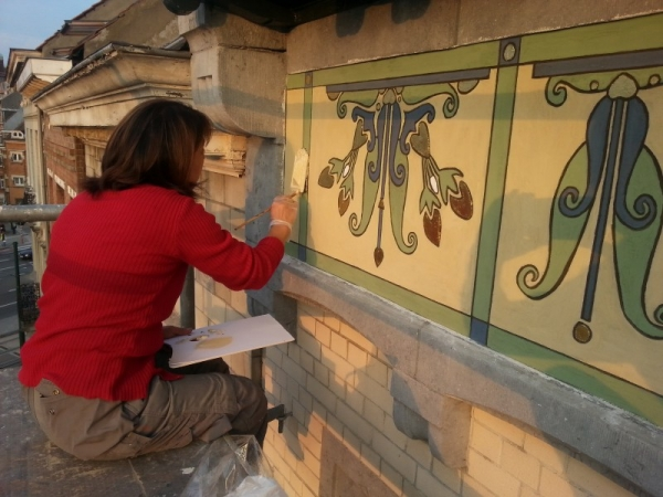 Sgrafiti & Wall painting restoration