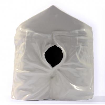 Nichoir en porcelaine coulage de barbotine 25 exemplaires