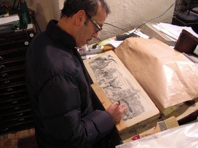 Tipografia grifani donati litographic stone