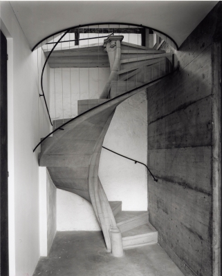 Spiral staircase built 2001 in basel switzerland