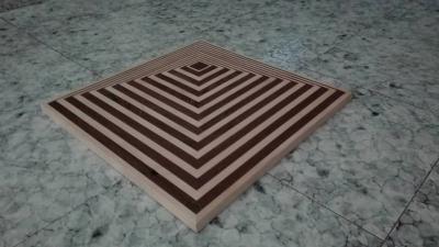 Vito Salerno -Tavolino effetto ottico