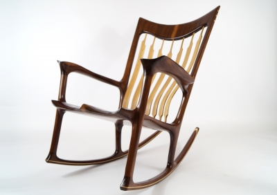 Low rocker rockingchair - Morten Stenbaek