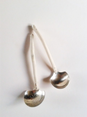 Sugar sifter jelly ladle - The Silver Duck