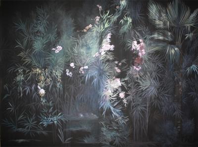 Elena Palossi - black garden