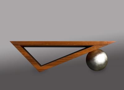 Table basse poids et mesures par Julien Lachaud