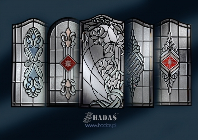 stainedglass set - HADAS Pracownia Witrazy