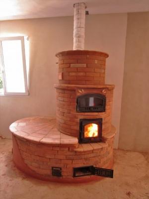Andrea Magnolini - stufa tonda a libera circolazione di gas fornace fonti