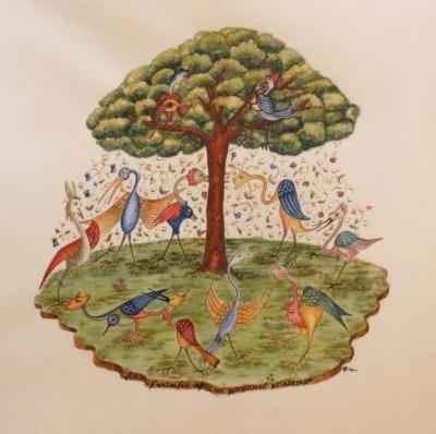 Annie Bouyer - La ronde des oiseaux