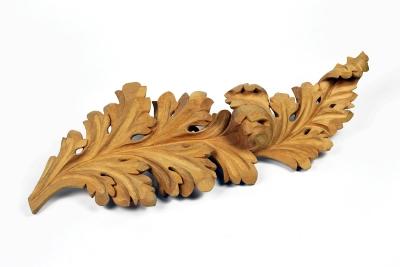Acanthus leaf wood carving by anastasya martynova 1200