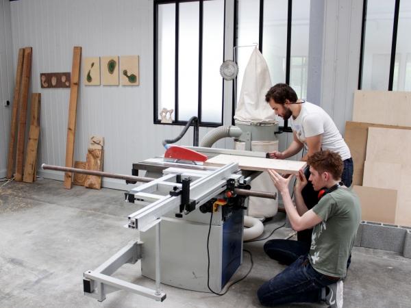 Benoît Vauhtier et Manu Lerendu - Atelier