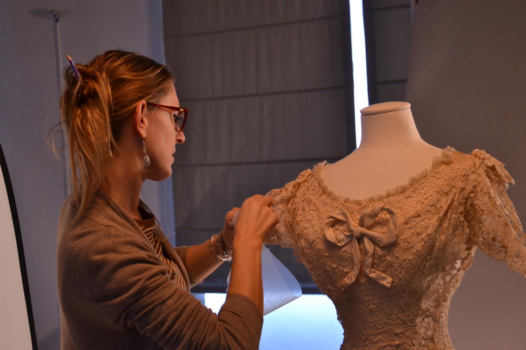 Tappezzeria Trompe L Oeil elisa zonta - textile restorer - mad'in europe