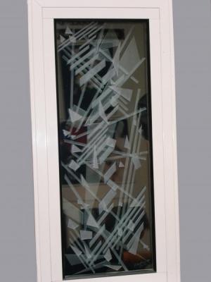 COCHERY - SABLAGE SUR 4 FACES verre double vitrage