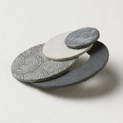 Réjane Van Enst - broche 4 cercles
