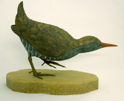 Carved bird