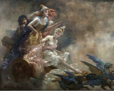 Claire Brochu - Char des fées après restauration