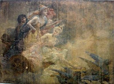 Claire Brochu - char des fées avant restauration