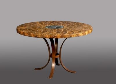 Julien Lachaud - Table tournesol des iles