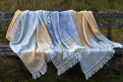 Madeleine jude handwoven hardanger blanket shawls lap rugs or lap blankets